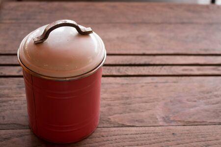 Canister: Vintage sugar canister