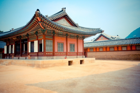 Korean pavillion in palace