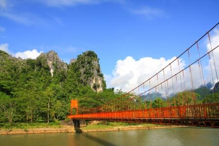 Vang Vieng natural Scenes Stok Fotoğraf