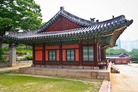 Korean pavillion in palace