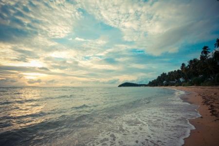 サムイ島、タイのビーチ
