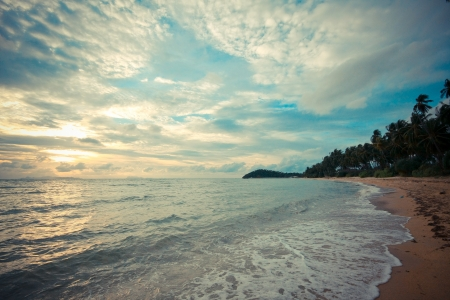 beach at samui island, Thailand photo