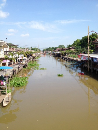 non urban 1: Local urban nearby the river in Thailand Editorial