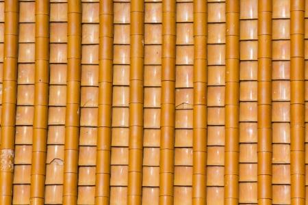 中国の寺院の茶色の屋上のテクスチャ 写真素材