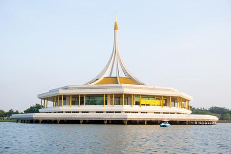 Ratchamangkhala Pavilion in Suan Luang Rama 9 Public Park,Bangkok, Thailand