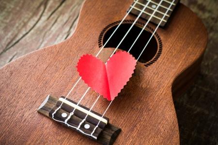 ギターの愛好家のバレンタイン