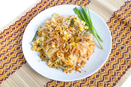 Thai food, Pad thai, Thai style noodles photo