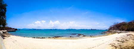 lanscape: Lanscape of the sea at Srichang island, Thailand
