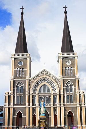 Cathedral in Chanthaburi province, Thailand  photo