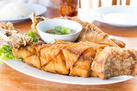 seafish: Fried seafish with Thai style sauce