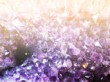 Natural amethyst texture for background