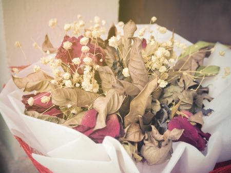 lasting: Vintage dry bouquet flower
