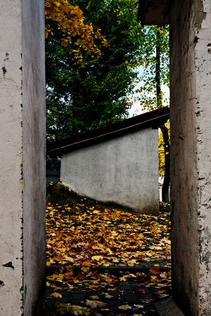 storeroom: Storeroom in the old yard in Mnske