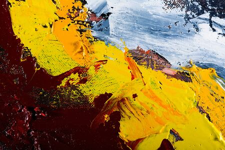 palette knife: abstract wallpaper. oil painting background with with palette knife marks