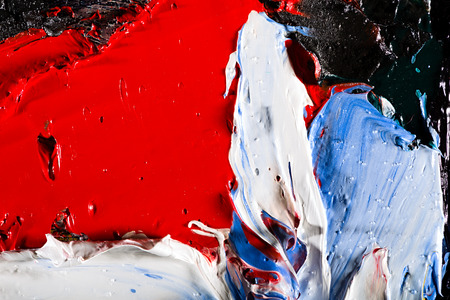 pintura abstracta: Fragmento de la pintura original, pintura al �leo textura de fondo