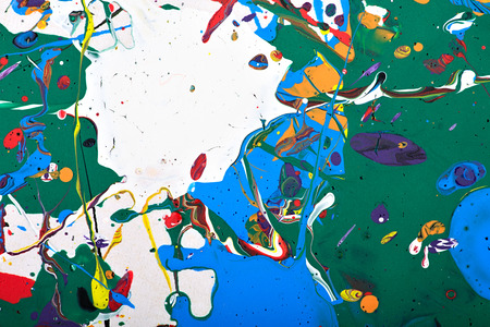 modern painting: Abstract acrylic modern painting fragment Stock Photo