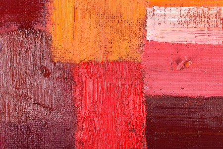 abstract wallpaper, texture, background of an original oil painting on canvas with brush strokes. photo