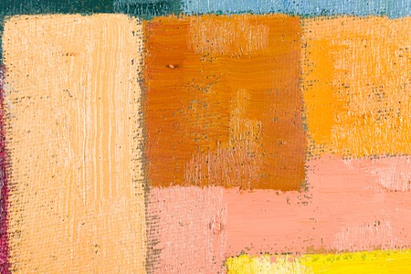 pink and brown: abstract wallpaper, texture, background of an original oil pink, brown and beige painting on canvas with brush strokes.