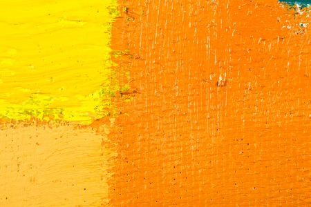 spot the difference: abstract wallpaper, texture, background of close-up fragment of oil painting on canvas with brush strokes.
