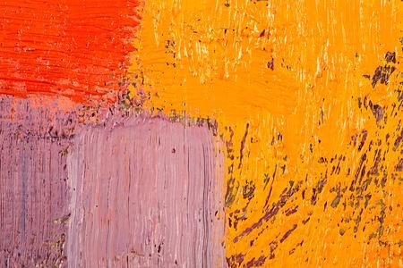 Abstrakte Tapete, Textur, Hintergrund der Nahaufnahme Fragment des Ölbild auf Leinwand mit Pinselstriche. Standard-Bild - 41790742