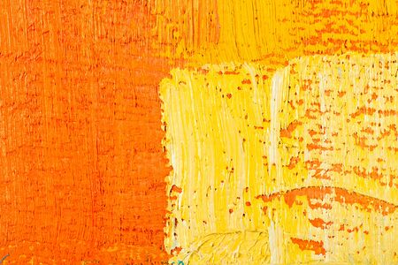coloured background: abstract texture background of an original oil geometric painting close-up fragment on canvas with brush strokes.