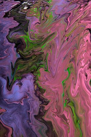 expressional: Closeup view of an original painting. Hand painted abstract dark cosmic grunge background.