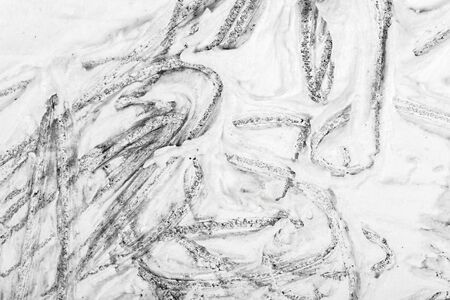 avantgarde: Closeup view of an original drawing. graphite pencil on acrylic paint. Hand painted abstract grunge background texture. Fragment of artwork, modern art, contemporary art. Mixed media. Avantgarde art.