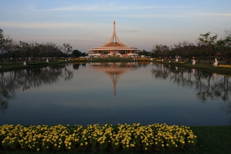 Royal king Rama 9 garden photo