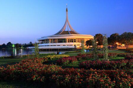 Royal king garden Rama 9 Bangkok