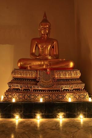 venerable: Buddha statue samathi style Editorial