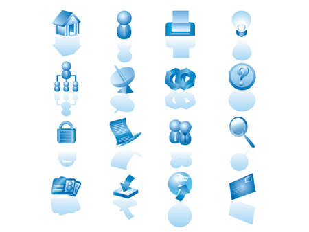 web icon set Stock Vector - 1875214