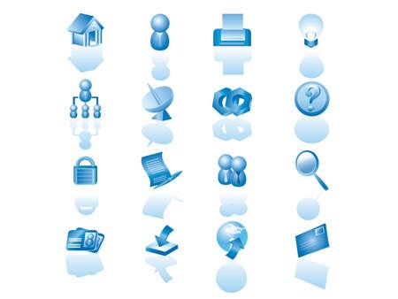 msn: web icon set