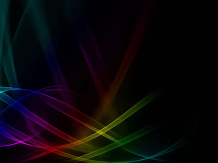 rainbow slide: This abstract composition is more for using on background. Stock Photo