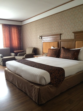 pillows: Hotel double bed room
