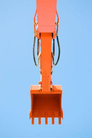 earthmover: Earthmover Bucket Stock Photo