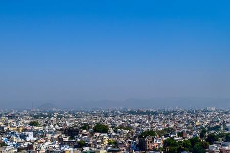 Panoramic landscape view famous of Mumbai City, Maharashtra, India