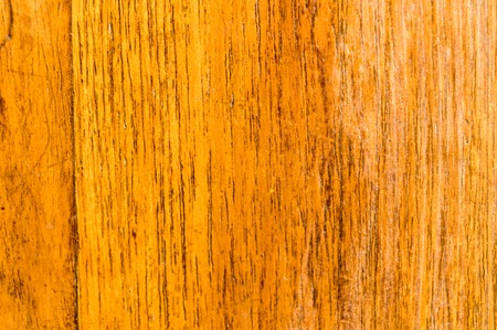 Yellow colored old natural wooden board textured flooring background. Surface of oak wood for design and decoration. Studio shot with copy space room for add text or work design for backdrop product.