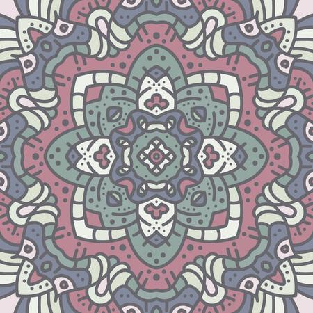 Alte geometrische Mandala Standard-Bild - 104012805
