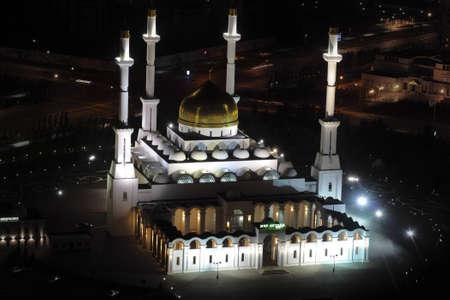 astana: Nur Astana - the central mosque in Astana, Kazakhstan.