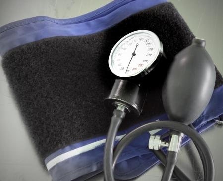 Medical blood pressure monitor  photo  Stock Photo - 13787192