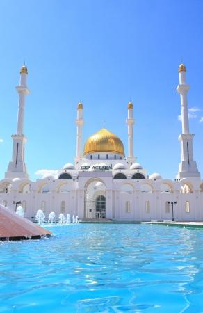 astana: Mosque Nur Astana  Astana, the capital of the Republic of Kazakhstan