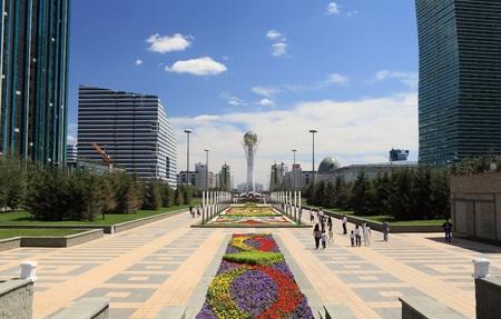 astana: Central square of of Kazakhstan  Astana city  Photo