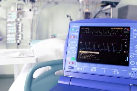 equipos medicos: controlar intra-aórtico de contrapulsación dispositivo contra la UCI