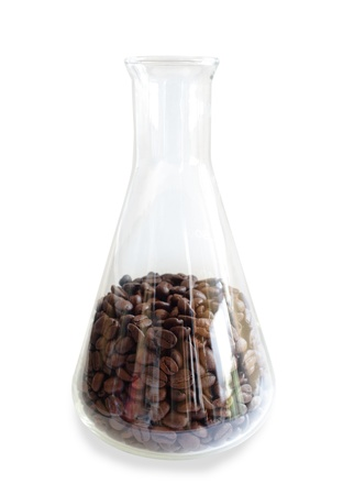 Investigation of coffee in the laboratory photo