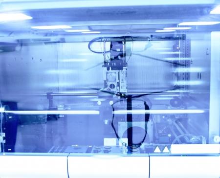 machine made: laboratory machine