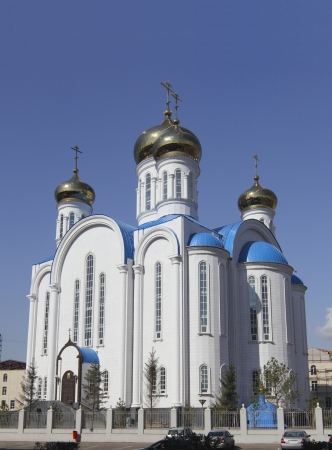 Church in Astana  Kazakhstan  Central Asia  photo
