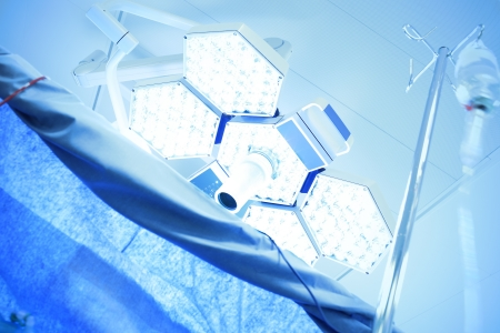 光的醫療用燈在手術室