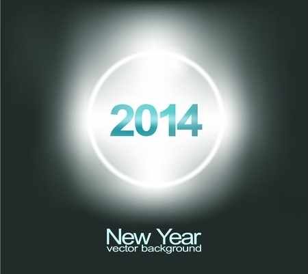 New Year background  Vector Stock Vector - 21559559