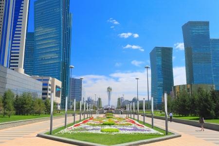 astana: Astana in sunny summer day