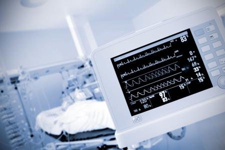 monitor in the ICU ward photo